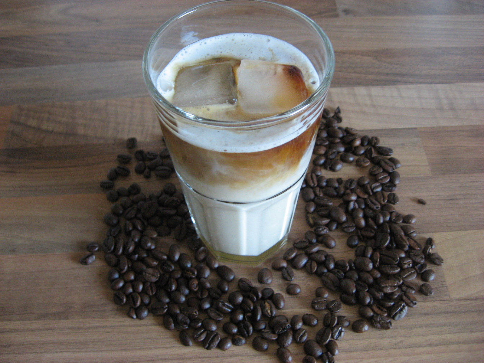 Eiskaffee vegan