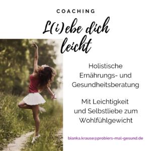 Liebe dich leicht Coaching